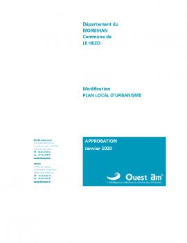 00 – Couverture_Modification LE HEZO_APPRO