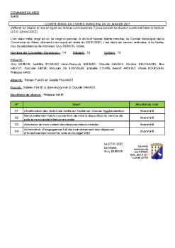 COMPTE RENDU CM 26-01-2021